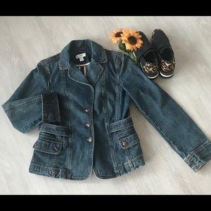 Loft denim jacket 🌻